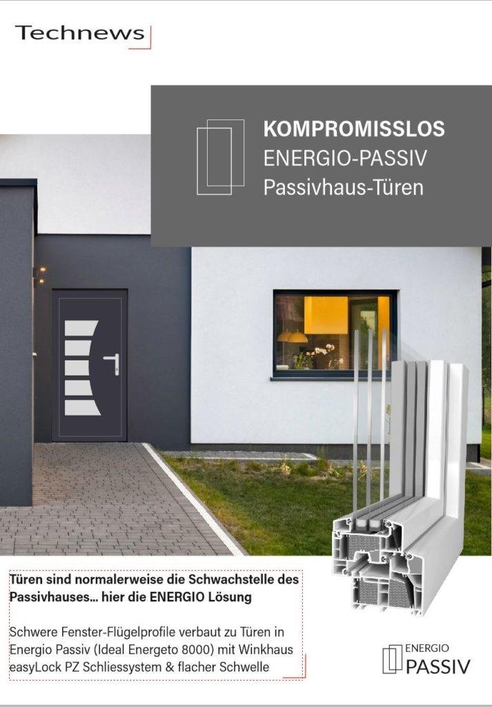 Türen für Passivhäuser, Passivhaus Tür